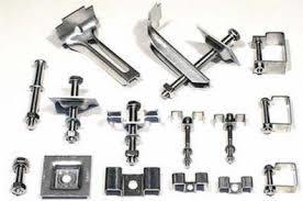 Stainless Steel Square Plate Clamp/ FRP/ Bar Grating Clips pictures & photos