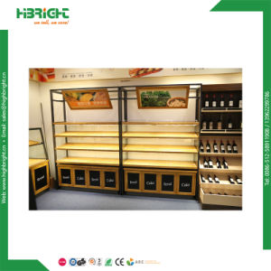 Store Fruits Display Stand Vegetable Bread Rack pictures & photos