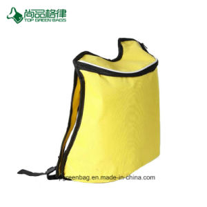 Custom Simple Zipper Close Polyester Cool Backpack Cold Food Storage Bag pictures & photos