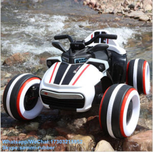 Four Wheel Kids Electric Motorcycle with RC for Children pictures & photos
