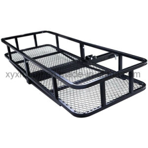 Hitch Mount Cargo Car Luggage Cargo Carrier Rack pictures & photos