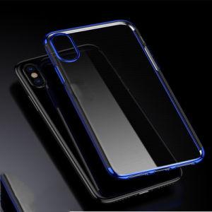 Galvanoplastie Transparent TPU Phone Case for iPhone X pictures & photos