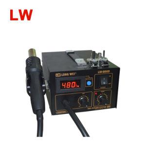Longwei 850d SMD Hot Air Gun Rework Station Solder pictures & photos
