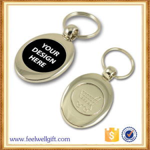 Wholesale Custom Design Promotion Gift Blank Metal Key Chain pictures & photos