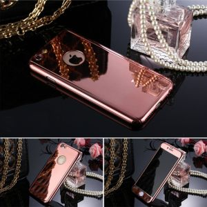 New Arrival Electroplate 360 PC Phone Case with Tempered Glass pictures & photos