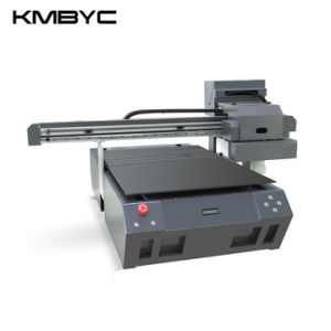 Byc A1 Plus Size Double Head 12 Channels Flatbed UV Printer pictures & photos