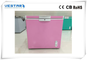 Colorful R600A Std Type Chest Freezer with 220-240V 50Hz pictures & photos