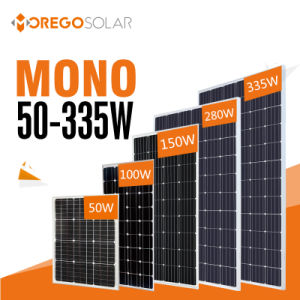 Morego PV Photovoltaic Mono Solar Panel (cell) 100W-335W pictures & photos