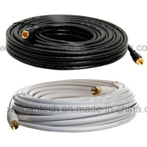 30 FT Dual Shielded Rg59 Digital Satellite TV Coaxial Cable pictures & photos
