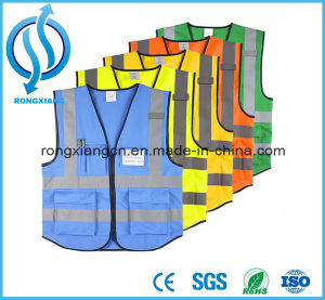 Reflective Fabric LED Safety Vest pictures & photos
