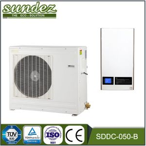 DC Inverter Split Heat Pump for Heating Cooling and Dhw (0.87-7.0KW)