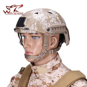 Tactical Bj Style Fma Fast Military Helmet Outdoor Army CS Riding Airsoft Paintball Base Jump Protective Fast Helmet pictures & photos