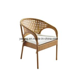 Modern Deisgn Aluminum Frame Patio Outdoor Furniture Garden Wicker Table Set for Balcony pictures & photos