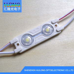 5050 LED Module with Lens 0.5W 2 LED Chips pictures & photos