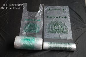 HDPE Printing Plastic Roll Bag for Shopping & Supermarket pictures & photos