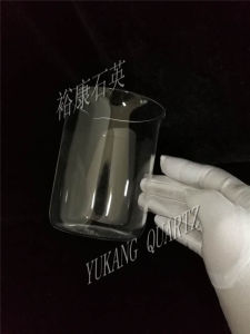 Transparent Quartz Beaker, All Sizes Can Be Customized pictures & photos