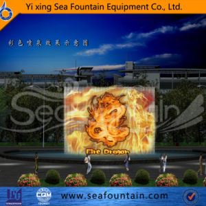 Seafountain Design Multimedia Music Fountain with Water Screen Movie pictures & photos