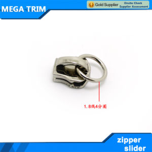 8#Metal Nickle Zipper Slider Head for Garment pictures & photos