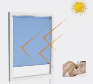 Home Window Blackout Silence PVC Shutter pictures & photos