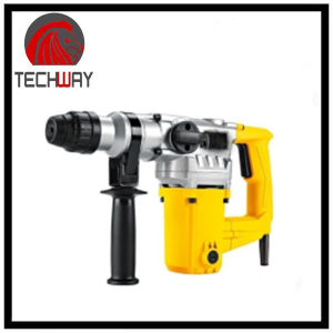 Max. 26mm/Concrete/ Wood/Metal 3 Functions Electric Rotary Hammer Drill pictures & photos