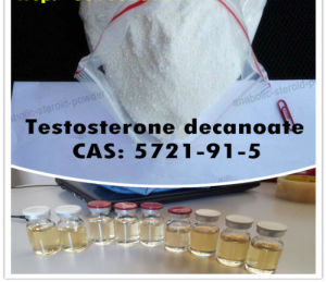 99% Purity Muscle Building White Powder Testosterone Decanoate/Testosterone Deca pictures & photos