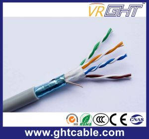 24AWG Indoor FTP Cat5e CCA LAN Cable pictures & photos
