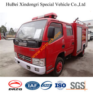 4ton Dongfeng Duolika Double Rows Water Fire Truck Euro3 pictures & photos