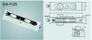 Window and Door Sash Pulley/ Roller SA-1125 pictures & photos