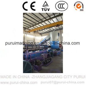 Plastic Recycling Pelletizing Equipment Machine for PP Woven Bag pictures & photos