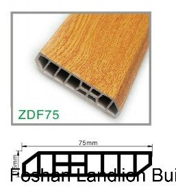 Wood Flooring Accessories of Water-Proof PVC Skirting Board pictures & photos