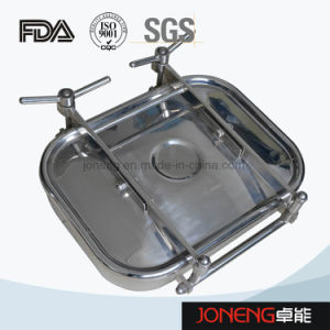 Rectangular Square Sanitary Manway Manhole Cover (JN-ML1001) pictures & photos