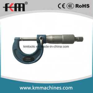 0-25mx0.01mm Mechanical Outside Micrometer pictures & photos