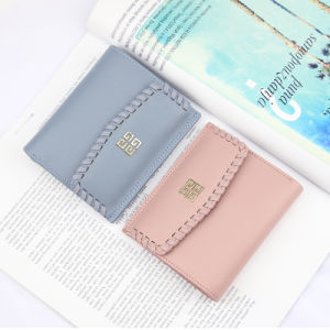 Handmade Designer Brand Women Small Wallet pictures & photos