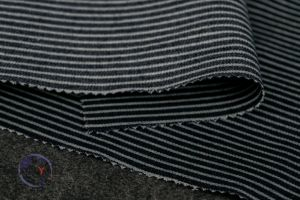 Vertical Stripes Stretch Denim Fabric pictures & photos