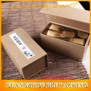 Magnetic Brown Cardboard Kraft Gift Box Foldable (BLF-GB288) pictures & photos