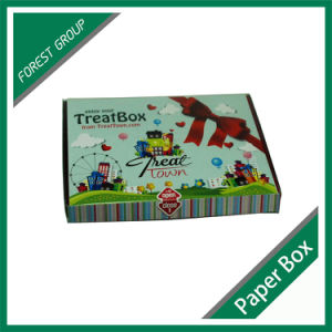 Colorful Folding Corrugated Party Candy Box pictures & photos