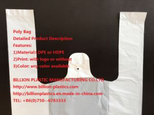 Vest Bag Poly Bag Carrier Bag Handle Bag pictures & photos