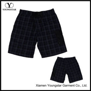 Mens Magic Tape Plaid Running Short Running Shorts Workout Outfits pictures & photos