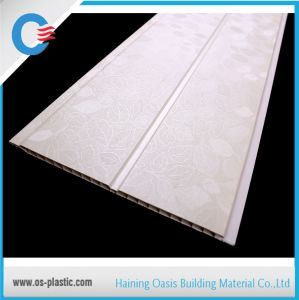 Size 25cm Middle Groove PVC Panels Laminated Design PVC Ceiling Decorative Wall Panel pictures & photos