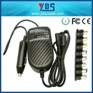 Universal 80W Laptop Charger DC to DC Laptop Car Charger pictures & photos