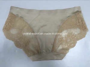 Seamless Lady Brief Non Trace Woman Panty Woman Lace Underwear pictures & photos