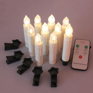LED Candle Christmas Decorative Moving Wick pictures & photos