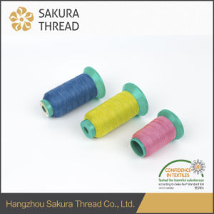 High Class Polyester Reflective Thread with Oeko-Tex100 1 Class pictures & photos