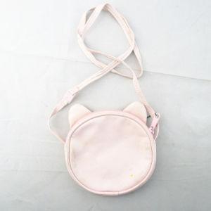 Pink Cat Print Kids Messenger Bag pictures & photos