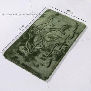 Luxury Three Pieces Set Anti-Slip Bathroom Mat pictures & photos