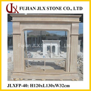 Stone Carved Fireplace pictures & photos