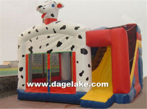 Inflatable Snoopy Dog Bouncy Slide Combo, Jumping Castle pictures & photos