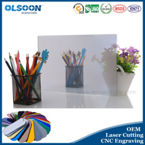 Guangzhou Manufacture Olsoon 0.8-6mm Thickness Silver Acrylic Mirror Sheet pictures & photos