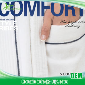 Factory 4 Star Hotel Luxury Bathrobe Online pictures & photos