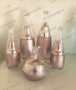High-End Acrylic Cream Jar Lotion Bottle for Cosmetic Packaging (PPC-CPS-085) pictures & photos